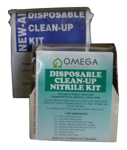 disposable clean up kit 102414