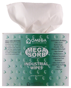 mega sorb industrial wipes 010615